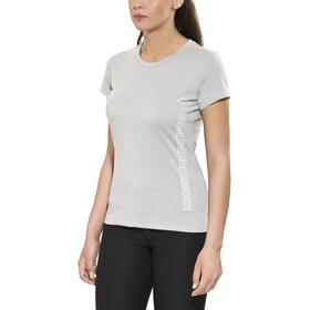 Peak Performance Track Tee Shirt Damen med grey mel
